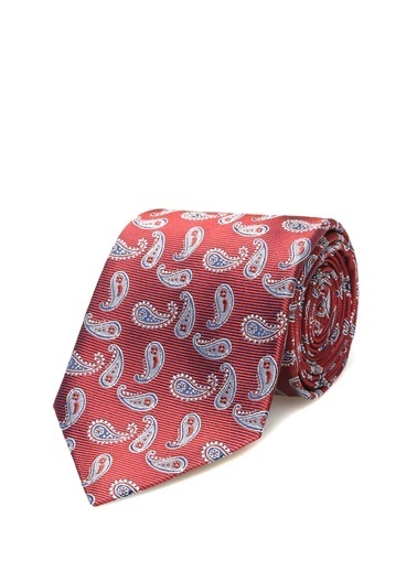 Beymen Collection Kravat Kırmızı